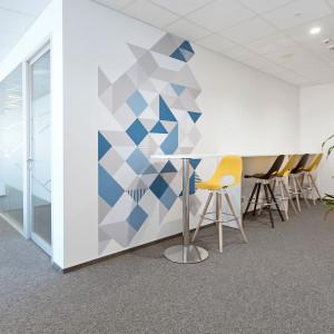 Biuro firmy j-labs zostało urządzone przez Grupę Nowy Styl. Fot. Grupa Nowy Styl