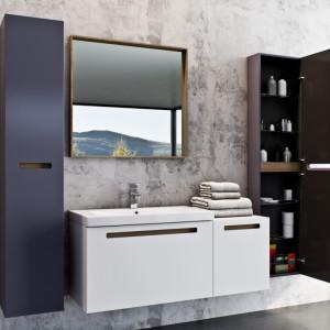 Kolekcja mebli łazienkowych SENSO marki Defra