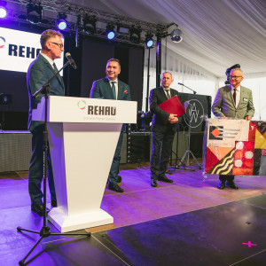Jubileuszowa gala 25-lecia firmy Rehau na polskim rynku. Fot. erwis prasowy Rehau