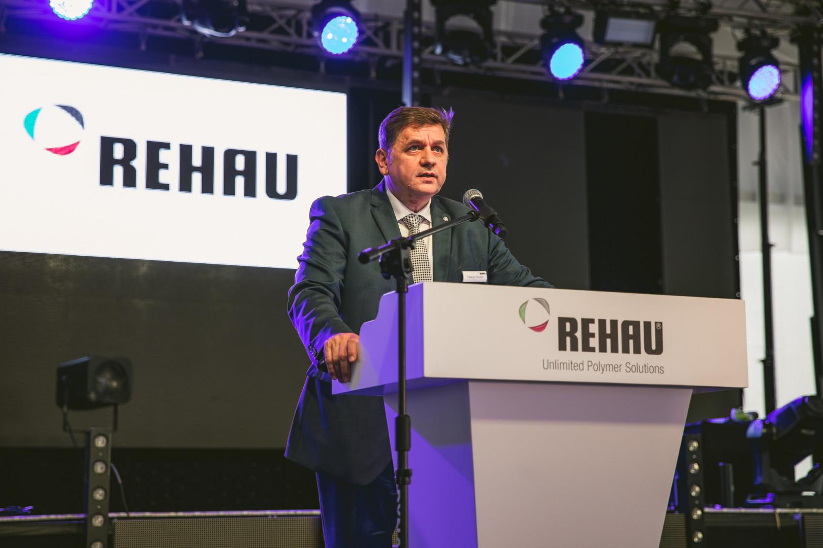 Tadeusz Grubba – dyrektor generalny Rehau Polska