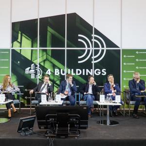 """Przedstawiamy relację z sesji inauguracyjnej 4Buildings pt. """"Zero waste w budownictwie"""". Fot. PTWP"""