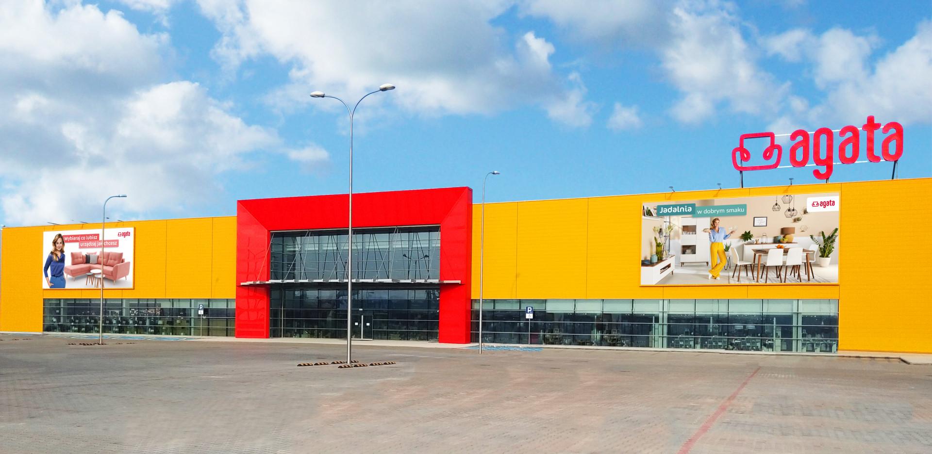 22 listopada 2019 r. sieć salonów meblowych Agata w Polsce powiększyła się o dwudziestu ósmy sklep. To jeden z największych pod względem powierzchni salonów tej marki w Polsce.