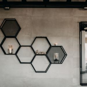 Plastry miodu LoftVision/Factory Design. Wyróżniony w konkursie Dobry Design 2020.