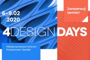 Przed nami 4 Design Days 2020. Zapraszamy na święto designu!