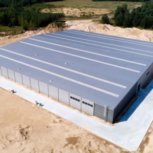 Na przełomie 2018 i 2019 roku firma Libro uruchomiła najnowszy zakład produkcyjny w miejscowości Nielbark. Potencjał produkcyjny nowego zakładu umożliwił zwiększenie sprzedaży o około 25 % licząc do roku 2018. Fot. Libro