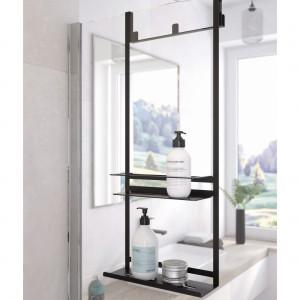 Kolekcja akcesoriów łazienkowych Mokko/Deante. Produkt zgłoszony do konkursu Meble Plus - Produkt 2020.