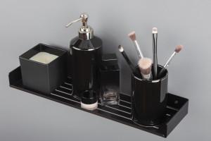 Kolekcja akcesoriów łazienkowych Mokko/Deante
