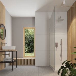 Kolekcja konsol łazienkowych z blatem i umywalką/Deante. Produkt zgłoszony do konkursu Meble Plus - Produkt 2020.