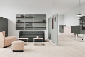 System akustycznych ścianek działowych Vibe/Kinnarps