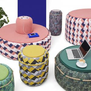 Kolekcja Hilo zaprojektowana dla  Libra Sofa przez Szymona Hanczara
