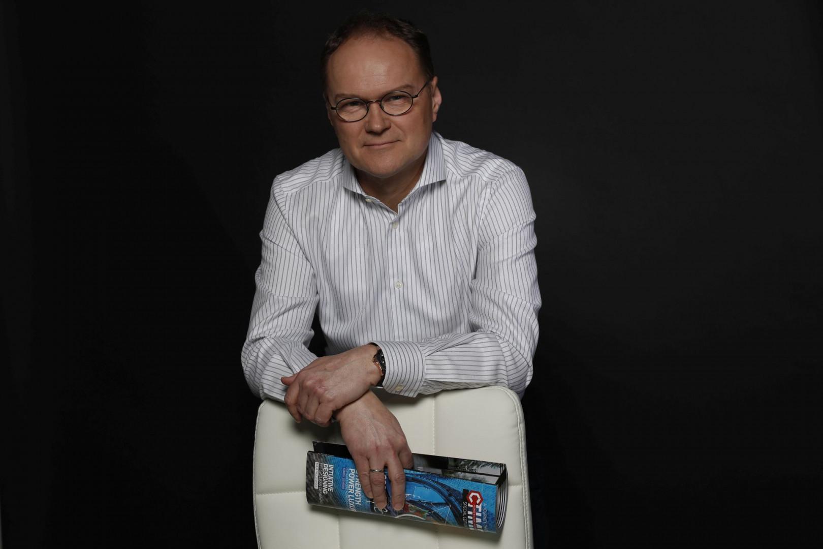 Maciej Karnicki, prezes zarządu Swiss Krono