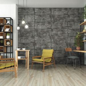 W tym roku swoją drugą odsłonę na rynku miały również innowacyjne dekoracje ścienne, inspirowane wzorami natury -- kolekcja Walldesign. Fot. Swiss Krono.