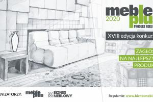 Konkurs Meble Plus - Produkt 2020: głosowanie trwa do 8 stycznia!