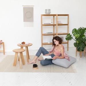 Stoliki kawowe Tondo mogą także pełnić rolę stołków lub stolików nocnych.