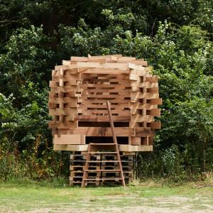 The Nest_Juliet Quintero(Dallas-Pierce-Quintero)_Sir John Sorrell London Design Festival)_red oak_AHEC_(Petr Krejci)