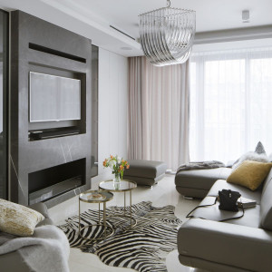 Apartament w Centrum  Pracowni Projektowej MGN otrzymał nagrodę German Award Design w kategorii Excellent Architecture - Interior Architecture. Fot Yassen_Hristov Hompics