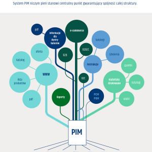 Infografika product information management PIM