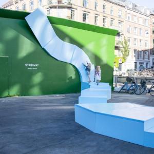Instalacja Starway w Kopenhadze. Proj. Izabela Bołoz