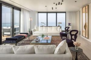 Luksusowa rezydencja w Tel Awiwie - wyjątkowe materiały we wnętrzu zaprojektowanym przez Irmę Orenstein