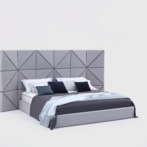 Łóżko Floe zaprojektowana przez Dorotę Koziarę dla marki Comforty