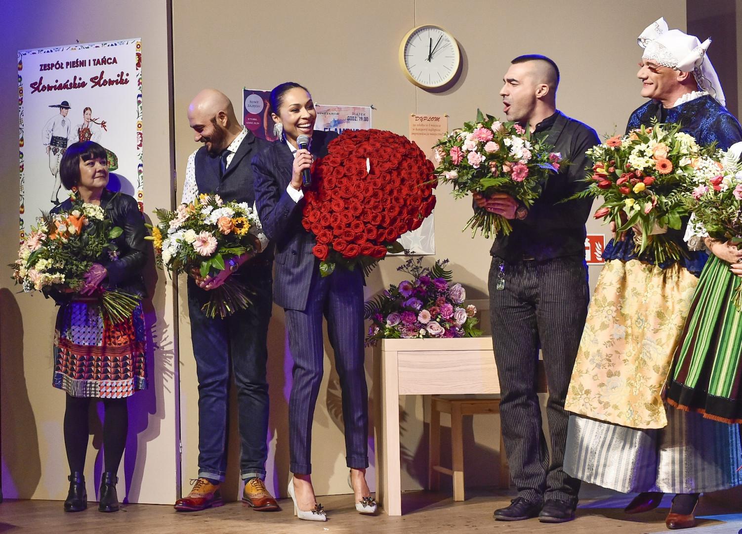 Premiera spektaklu Czarno to widzę fot. Jacek Kurnikowski -AKPA
