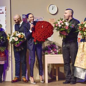 Podziękowania, premiera spektaklu Czarno to widzę fot. Jacek Kurnikowski -AKPA