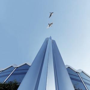 Axis - najnowsza realizacja przy warszawskiej Rotundzie we współpracy z partnerem - bankiem PKO.