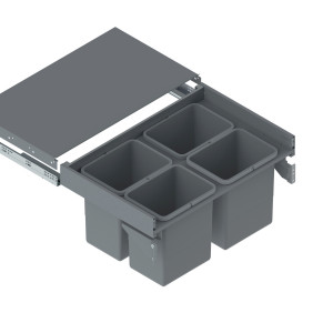 Slim Box Szuflada z poj. na odpady 80