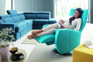 Fotel z funkcją relaksu