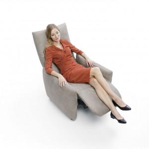 Fotel z funkcją relaksu. Fot. Gala Collezione