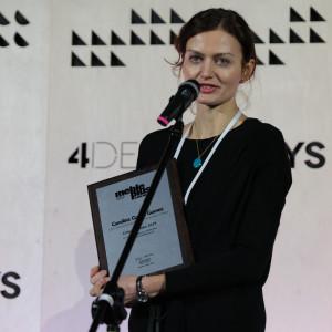 Nagrodę w imieniu Laureatki odebrała Katarzyna Broniarek, dyrektorka ds. komunikacji IKEA Retail w Polsce