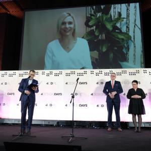 Carolina Garcia Gomez, CEO i Chief Sustainability Officer IKEA Retail w Polsce Człowiekiem Roku 2019 w plebiscycie magazynu Meble Plus i portalu Biznesmeblowy.pl