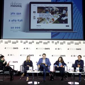 """Dyskusja """"Meble. Zrównoważony design"""" odbyła się w trakcie pierwszego dnia 4 Design Days 2020"""