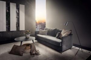 Sofa do małego salonu. Nowy model od polskiego producenta