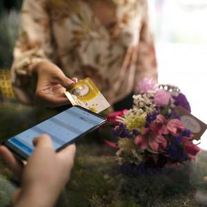 Terminal płatniczy w aplikacji mobilnej dla przedsiębiorców. Fot. Samsung