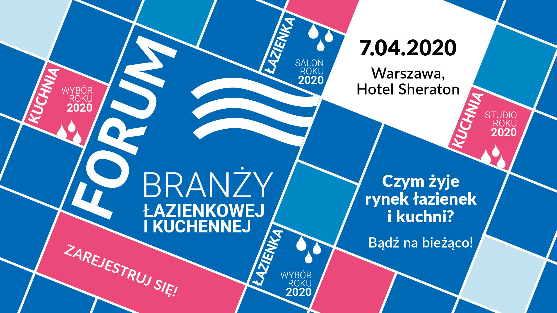 Ruszyła rejestracja na 7. Forum Branży Łazienkowej i Kuchennej