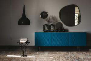 Lukusowe meble w kolorze roku Classic Blue
