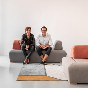 Dawid Kalemba i Agnieszka Możdżer - zespół projektowy
