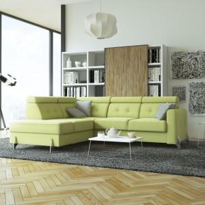 Polska marka mebli tapicerowanych stawia na nowe wymiary Model Monte_Carlo. Fot. MP Nidzica