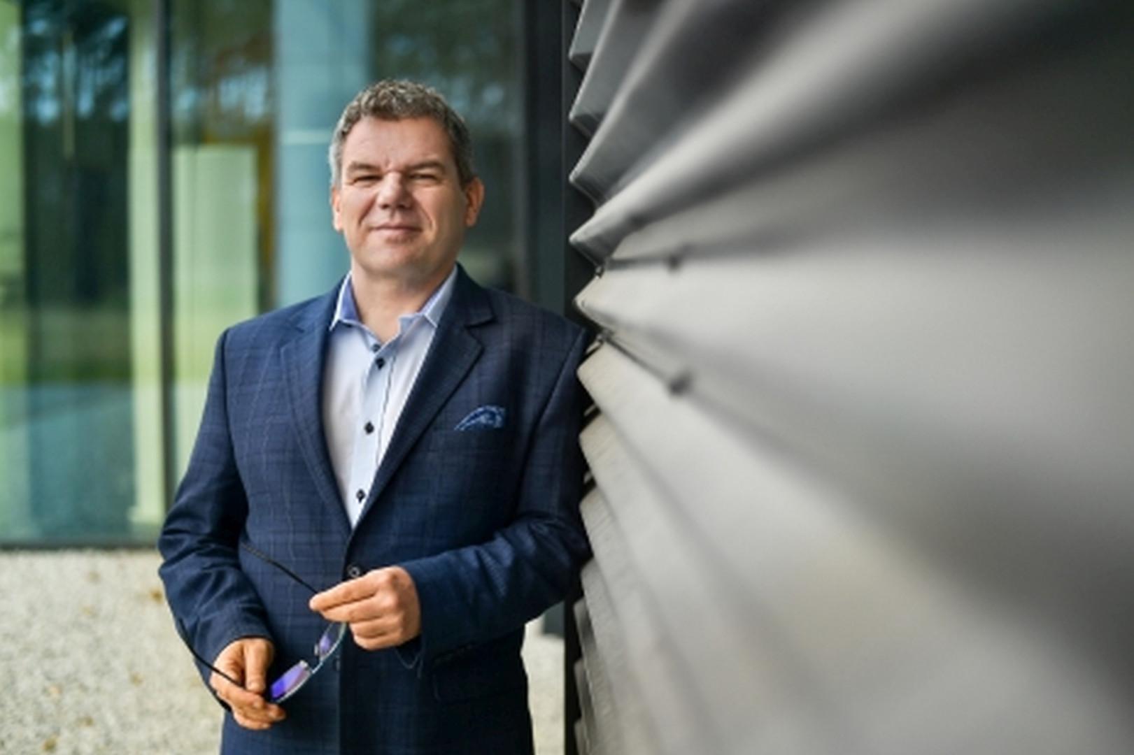 Marek Sprengel, prezes Awilux Fot. Awilux