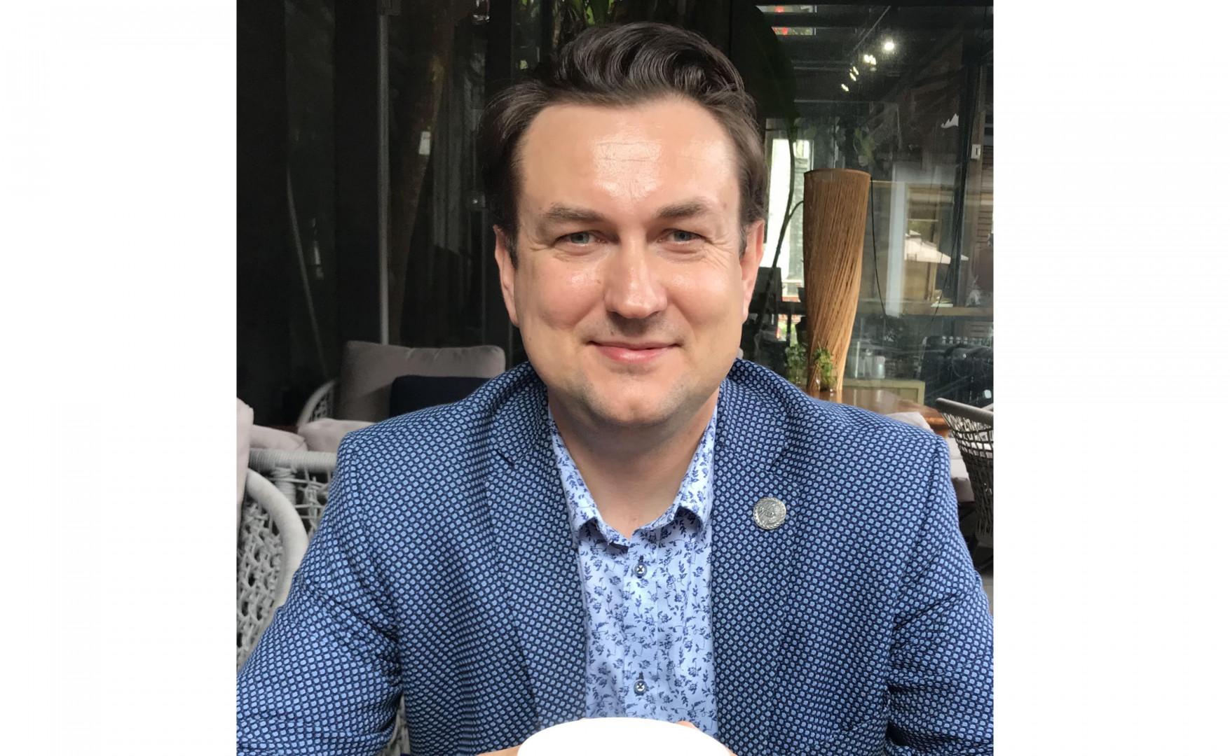 Tomasz Wiktorski, założyciel B+R Studio