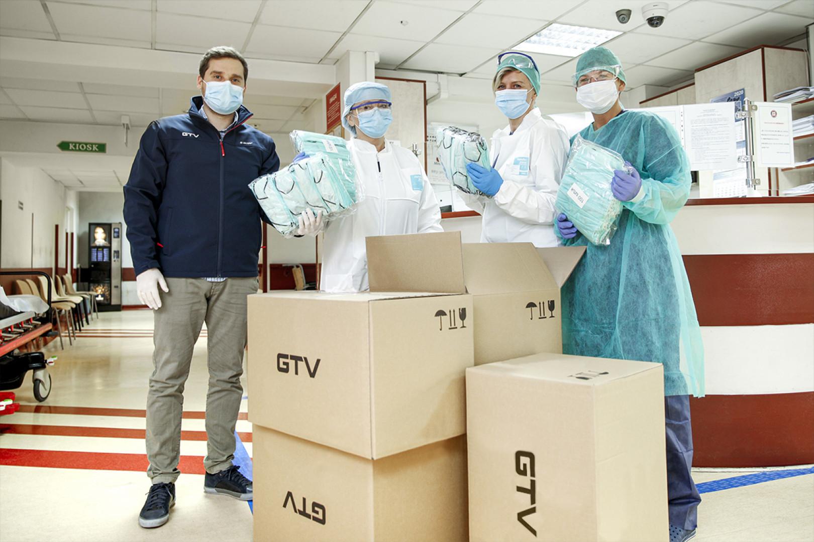 GTV wspiera lokalne szpitale