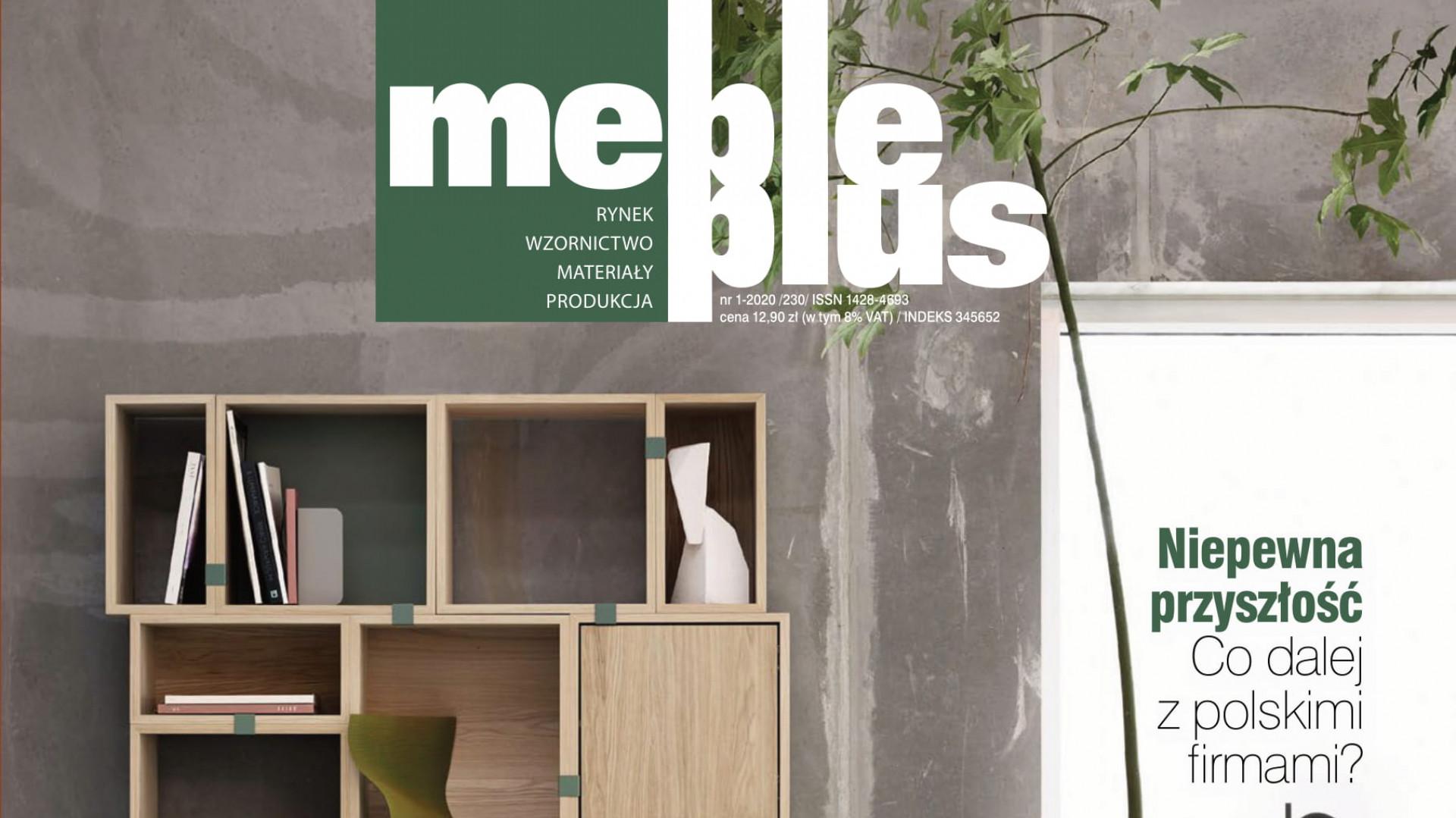 Najnowsze wydanie magazynu Meble Plus: czytaj za darmo online